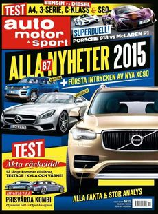 19/2014: Nya Volvo XC90 - Viktigaste nyheterna 2015