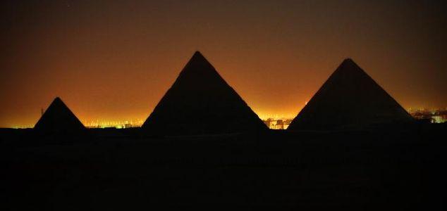 Pyramidernas gåta löst
