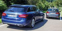 Provduell: Mercedes C-klass Kombi mot BMW 3-serie Touring