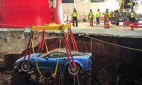 National Corvette Museum renoveras – liksom tre skadade bilar