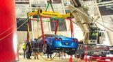 National Corvette Museum efter slukhålet