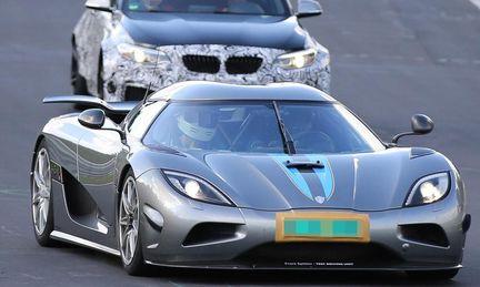 Spion: Koenigsegg testar något hemligt på Nürburgring