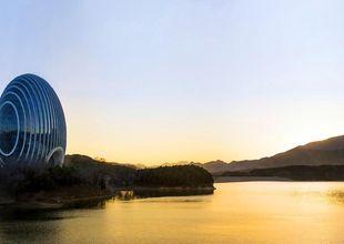 Pekings nya rymdhotell