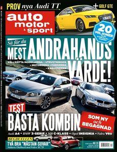 20/2014: Fem bilar i kombitest - Så får du bäst andrahandsvärde