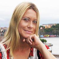 På väg: Åsa Larsson