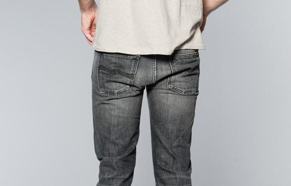 10 gråa jeans
