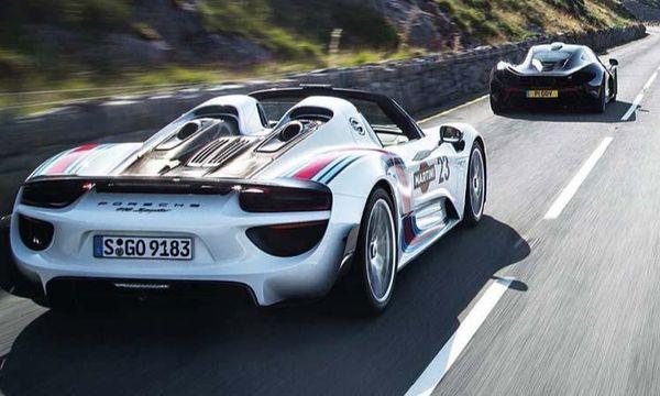Bästa superbilen: McLaren P1 eller Porsche 918