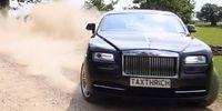 Bilmisshandlaren kör rally med Rolls-Royce Wraith