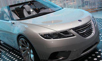 Parissalongen 2008: Saabs konceptbil –VW sågade elbilar och hybrider