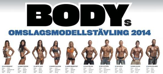 BODYs omslagsmodelltävling 2014