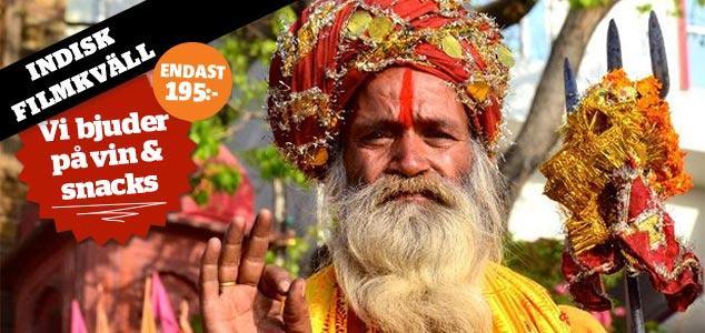 Indisk filmkväll med Vagabond