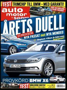 23/2014: Årets duell - Passat mot Mondeo
