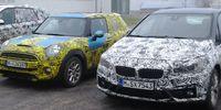 Spion: BMW:s testkaravan fångad av läsare