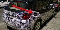 Spion: BMW testar nya X1 med eldrift