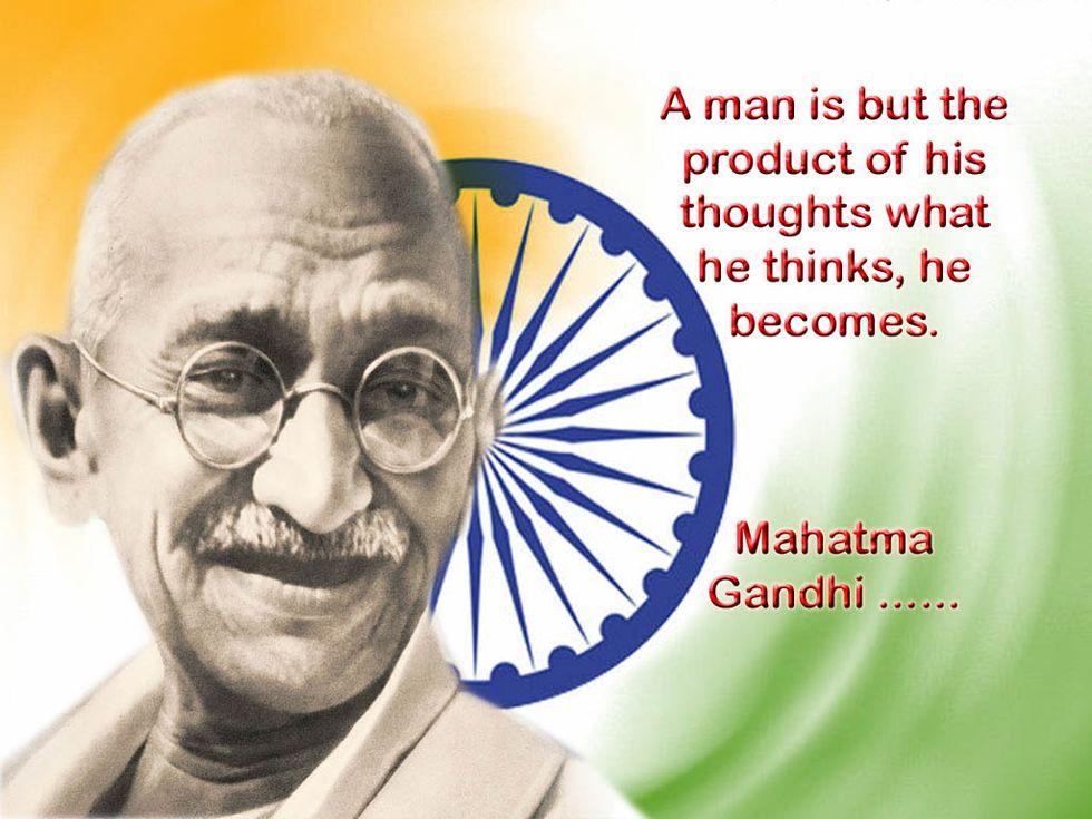 Mahatma gandhi's essay