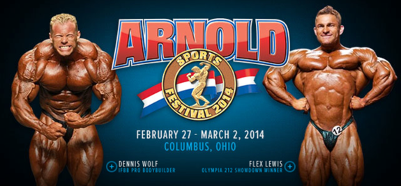 Repriserna av Arnold Classic nu online!