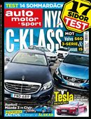 7/2014: Test av nya C-klass, 3-serie, S60 och IS