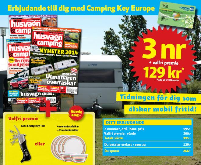Välkommen som prenumerant på husvagn & camping!